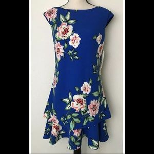 Eliza J Floral Shift Dress NWT Size 6